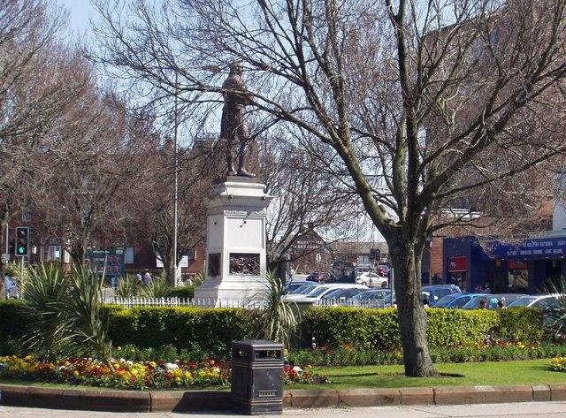 Burns Statue Square, Ayr