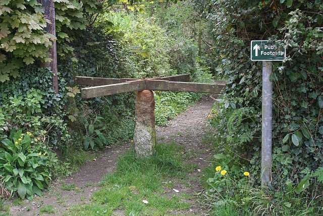 A Turnstile to the Footpath