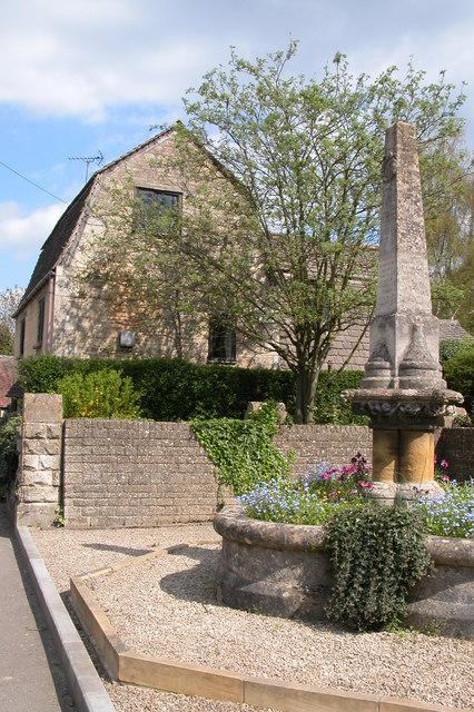 War Memorial in Gretton