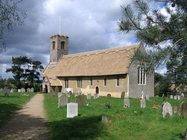 St Ethelbert, Thurton
