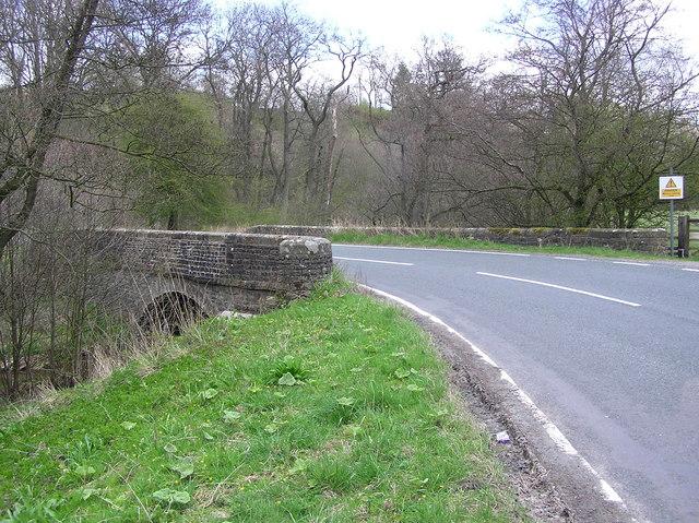 Eddy's Bridge : Hartley Park , Reeth Road.