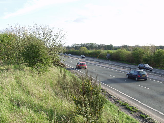 The Wrecsam By-pass. A 483