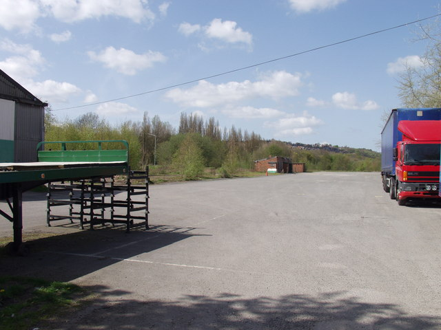 Gatewen Colliery Yard,  New Broughton