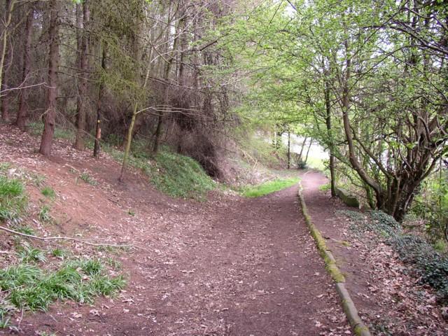 Footpath from Bradford Road towards Netheroyd Hill, Fartown