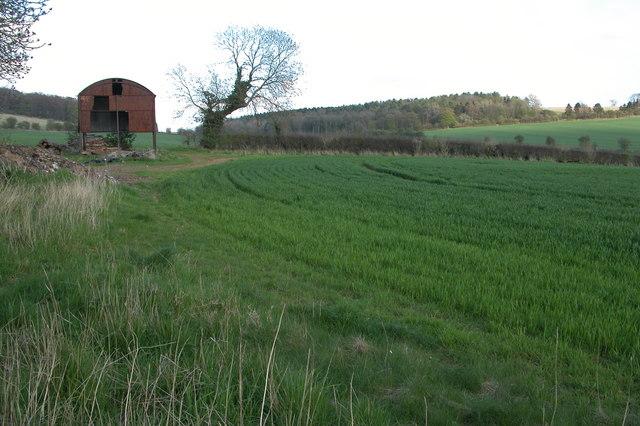 Dutch Barn near Charlton Abbots