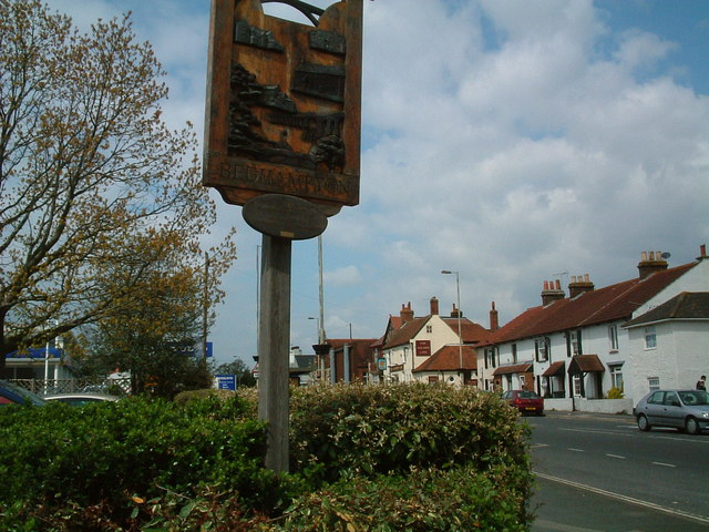 Place sign - Bedhampton