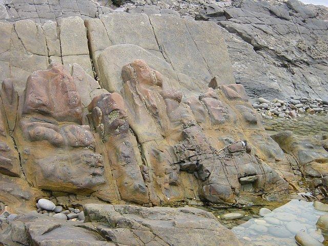 Sculptural rocks