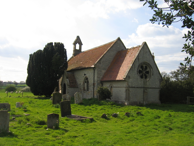 Spernall church
