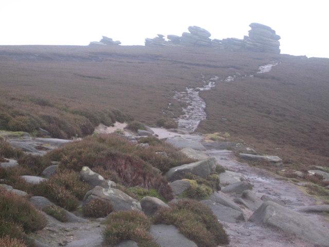 Wheel Stones on Derwent Edge