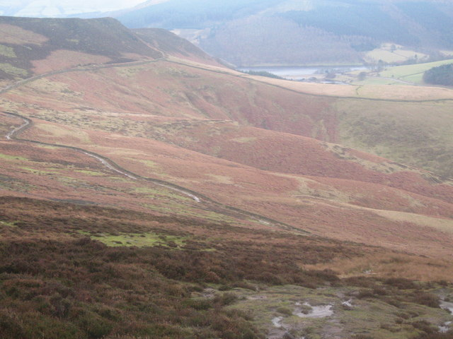 From Wheel Stones on Derwent Edge