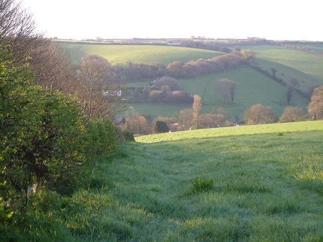 Wash valley at Middle Washbourne