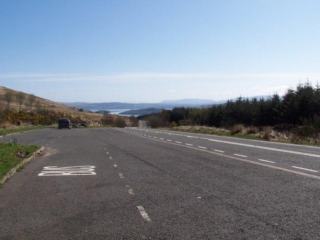 New Glen Fruin Road, Viewpoint