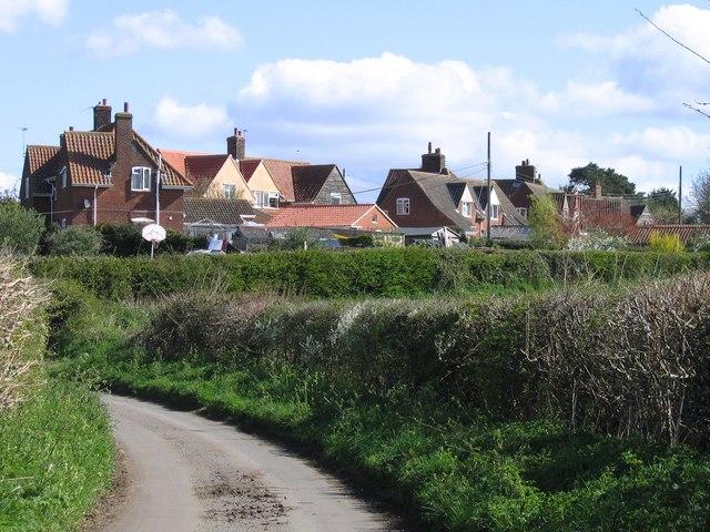 View from Leafyoak Lane, Poringland
