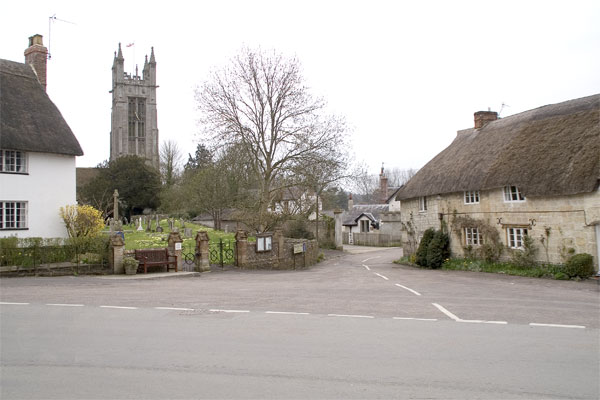 Church and The Square, Cattistock