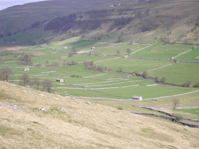 Field barns in Upper Wharfedale