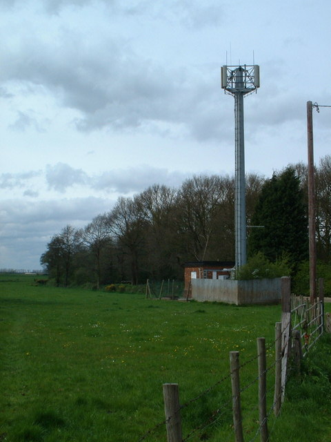 Mobile mast.