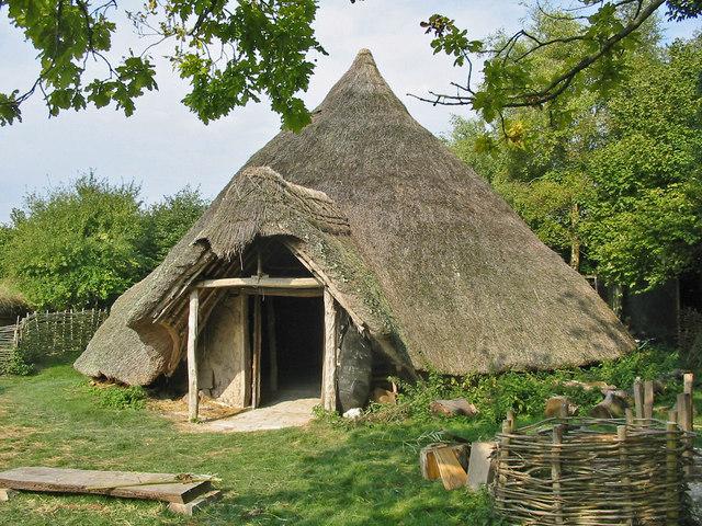 Iron Age (celtic) Round House Cranborne Dorset