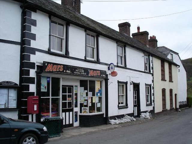 Llanfair TH village shop