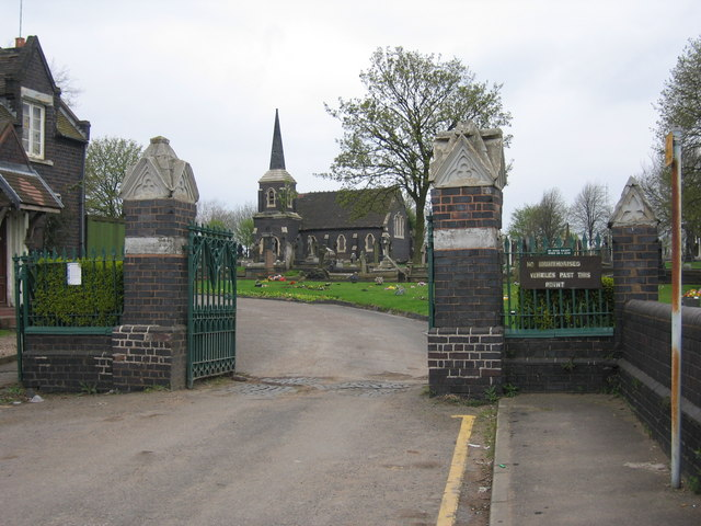 Chapel in James Bridge Cemetery
