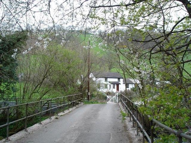 Bridge and cottage