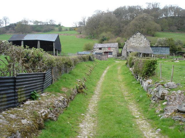 Disused farmbuildings