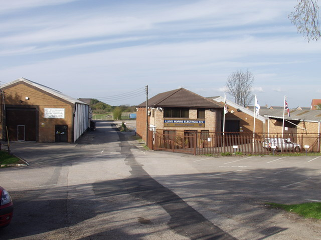 Small industrial estate at Pandy