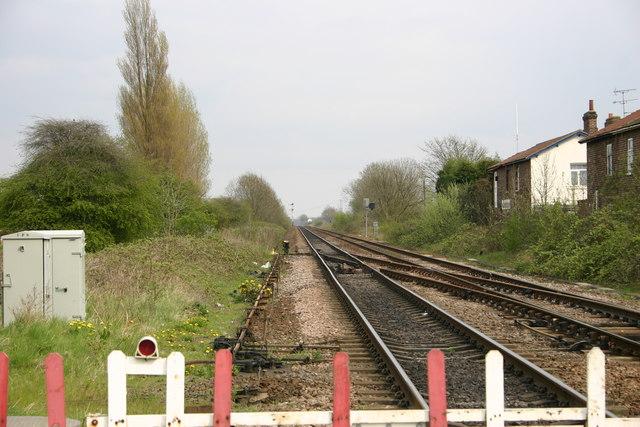 Main Railway Line into Hull