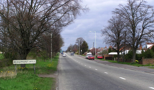 Beaumont Hill : A167.