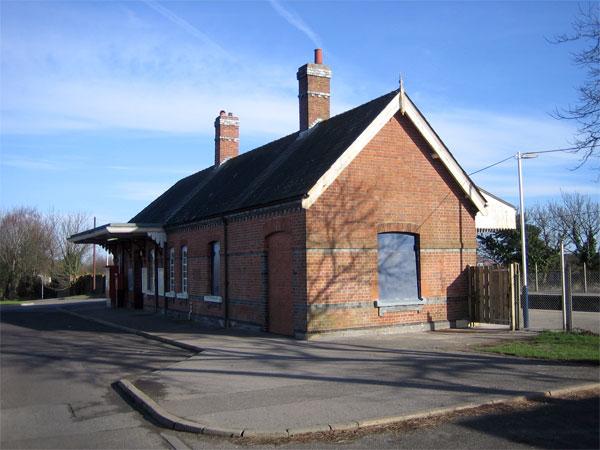 Hamworthy Station, Poole