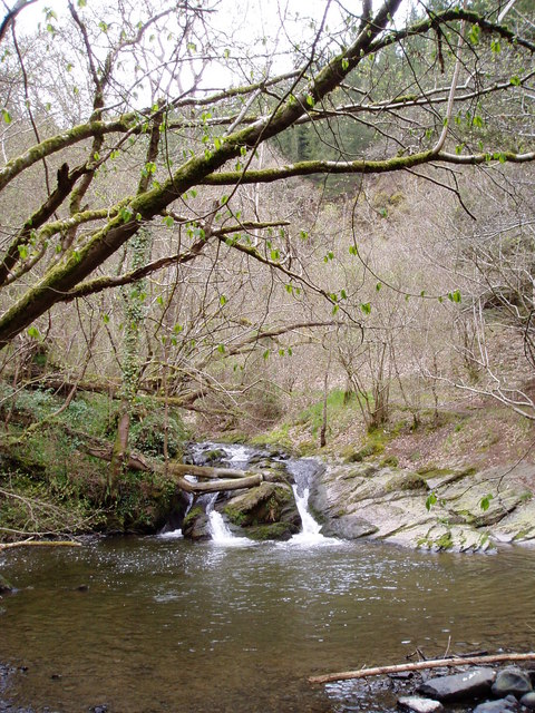 Waterfall on the River Clywedog
