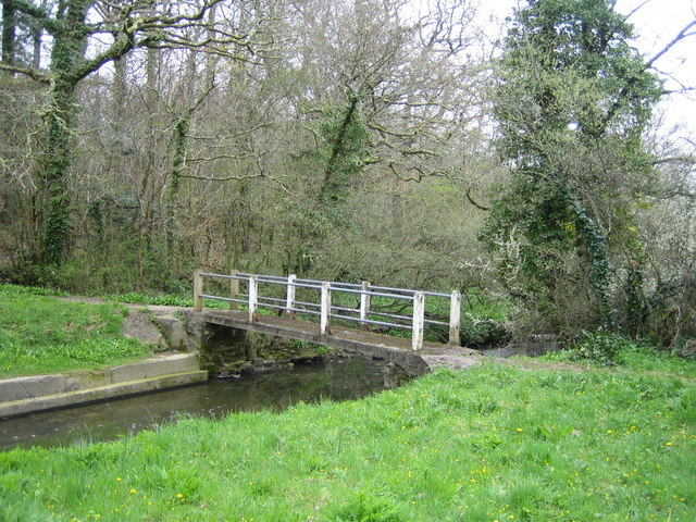 Footbridge at Millin Cross