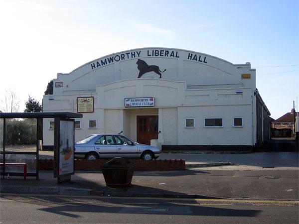 Hamworthy Liberal Hall, Poole