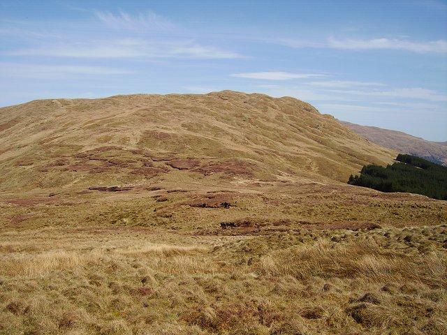 Cruach nan Capull from Cruach nam Mult