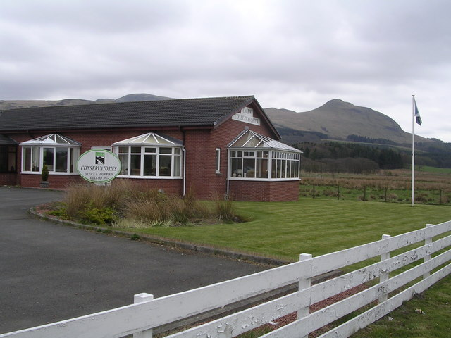 Cairn Conservatories, near Dumgoyne