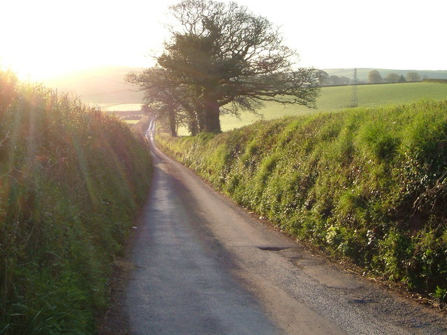 Lane to Middle Washbourne