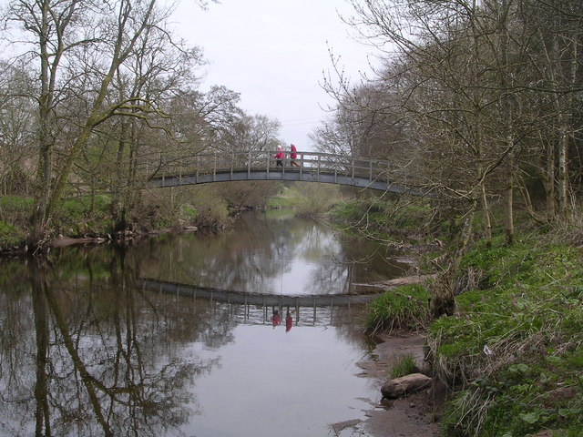 Footbridge across the Endrick Water