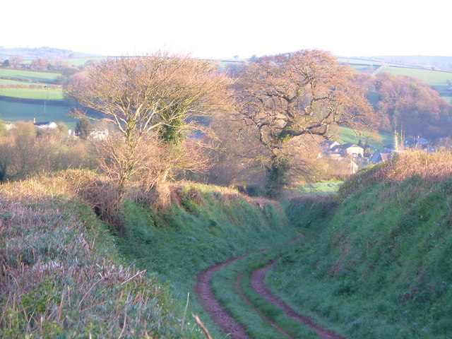 Old road to Harbertonford