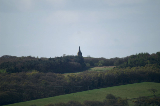 Ashurst Beacon from the Parbold Viewpoint