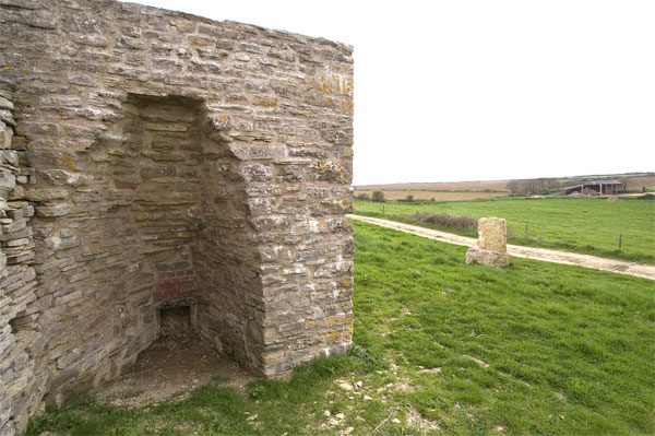 Lime kiln at South Barn