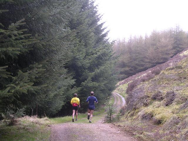 The Track to Black Linn Reservoir