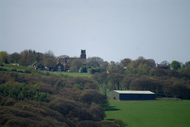 Dalton Church from the Parbold Viewpoint