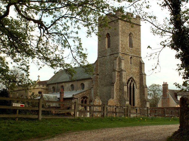 St. Peter's church, Little Thurlow, Suffolk