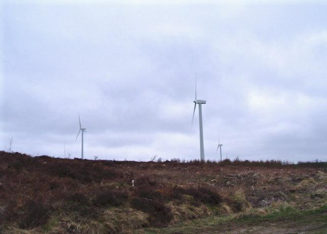 Foel Goch wind turbines