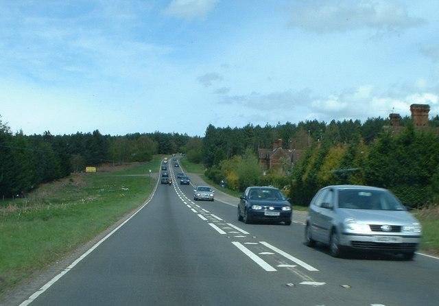 A149 coast road to Hunstanton.