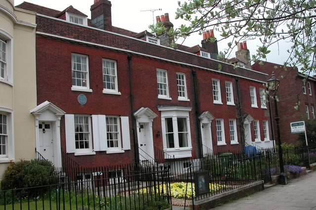 The birthplace of Charles Dickens