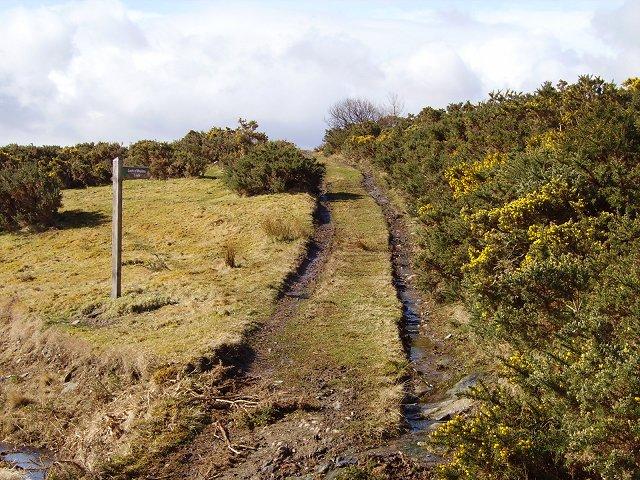 Loch a' Mhuillin track
