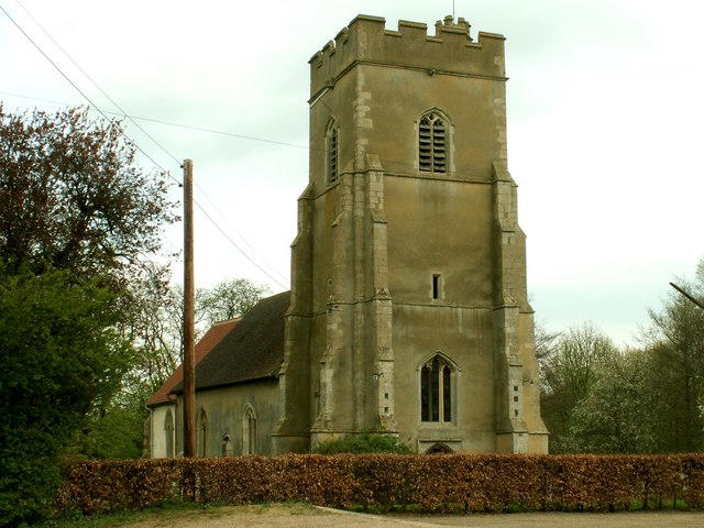 St. Mary's church, Great Bradley, Suffolk