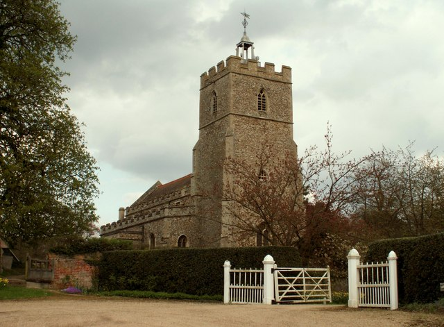 All Saint's church, Great Thurlow, Suffolk