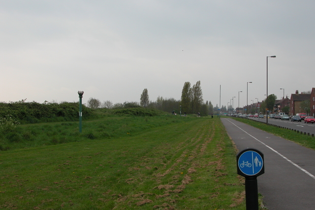 Cycle Track on the Eastern Road.