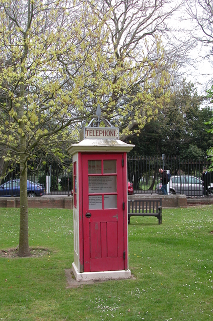 Telephone kiosk Number 1.